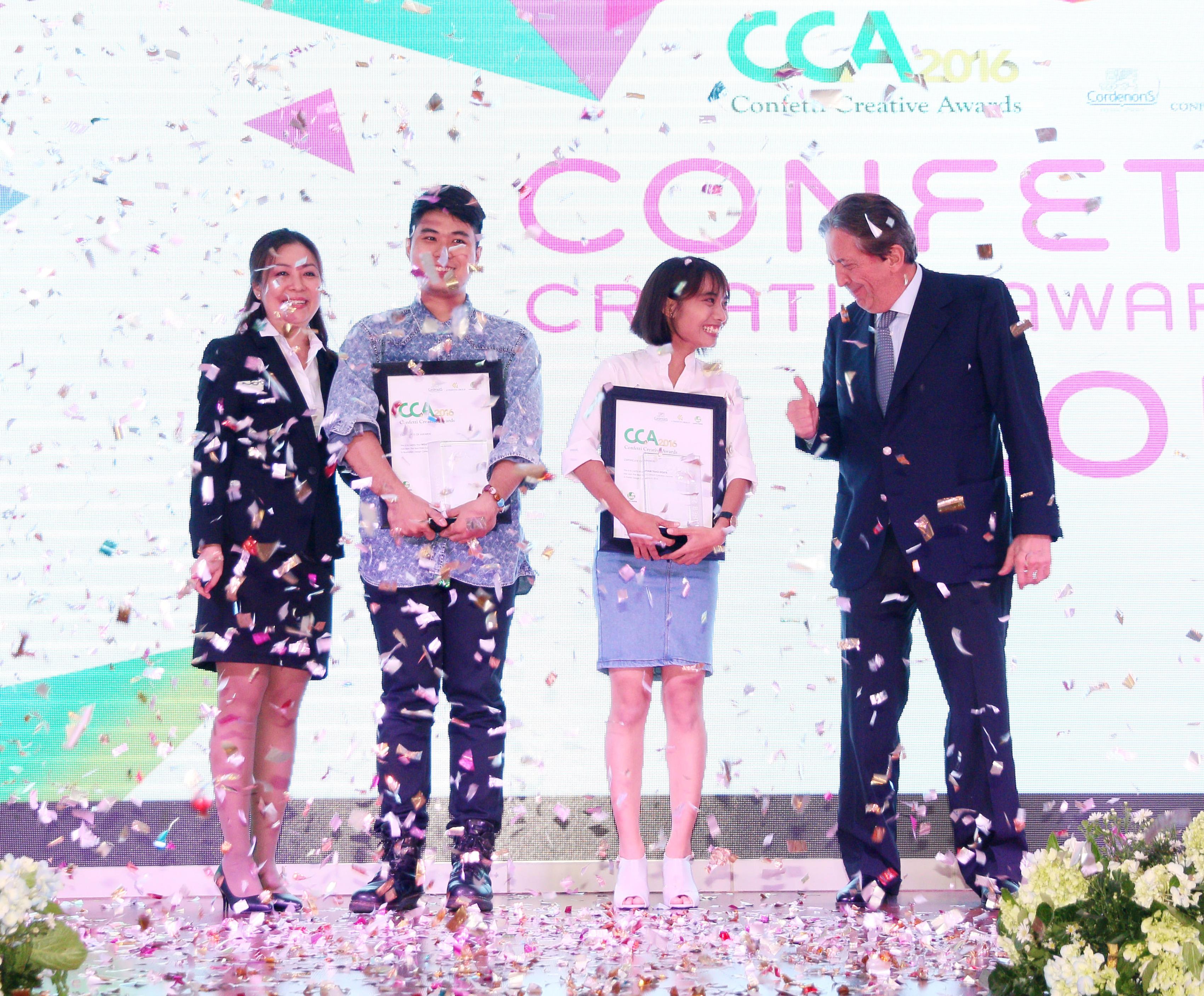 Giấy Lan Vi | Kết quả cuộc thi thiết kế đồ họa Confetti Creative Awards 2016