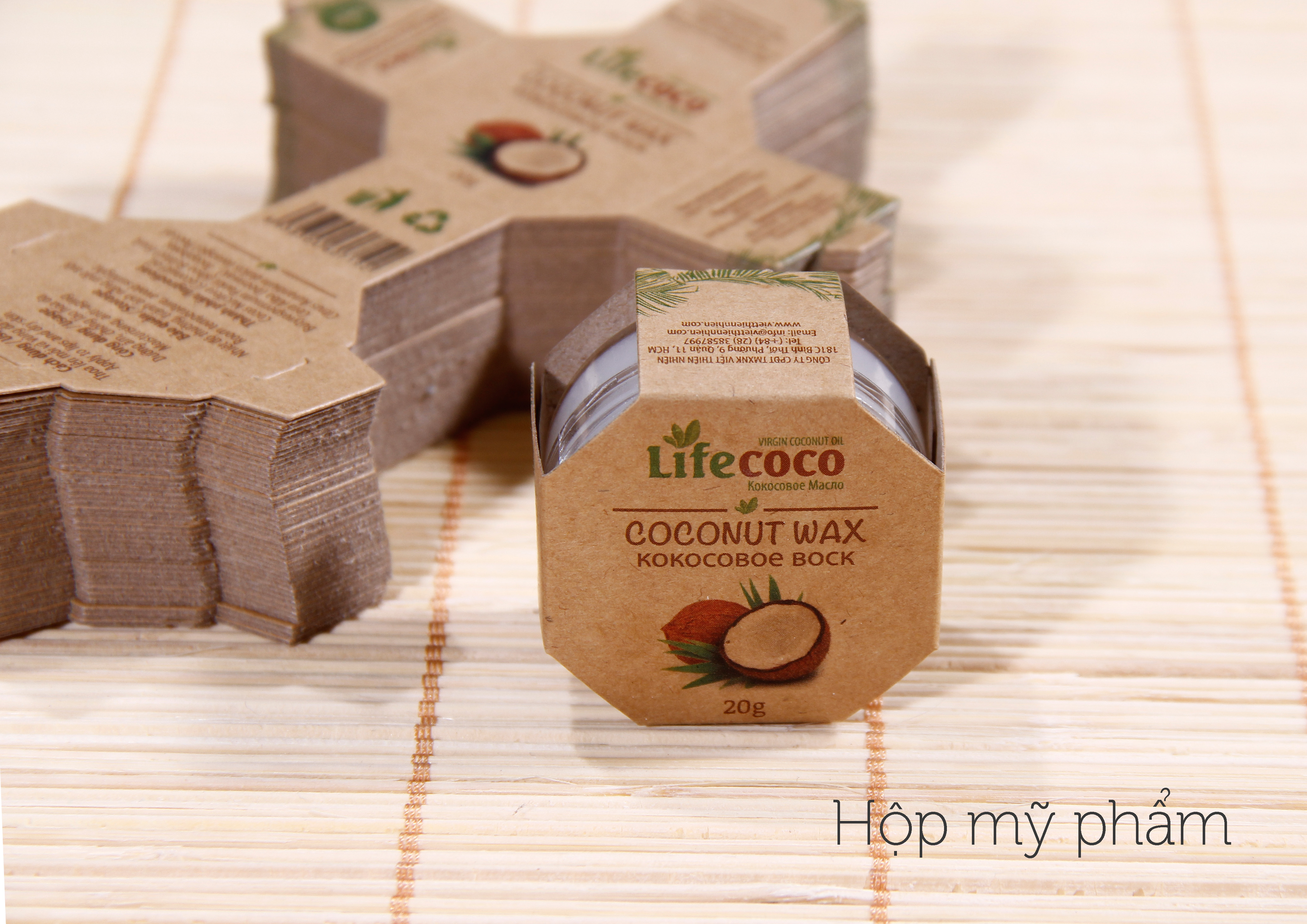 Giấy Lan Vi | Hộp bao bì mỹ phẩm Life Coco