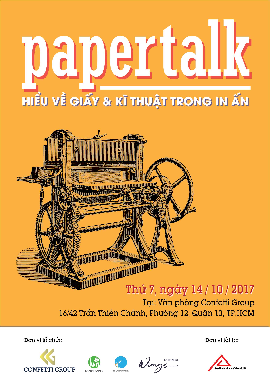 Giấy Lan Vi | Đăng kí tham dự Paper Talk