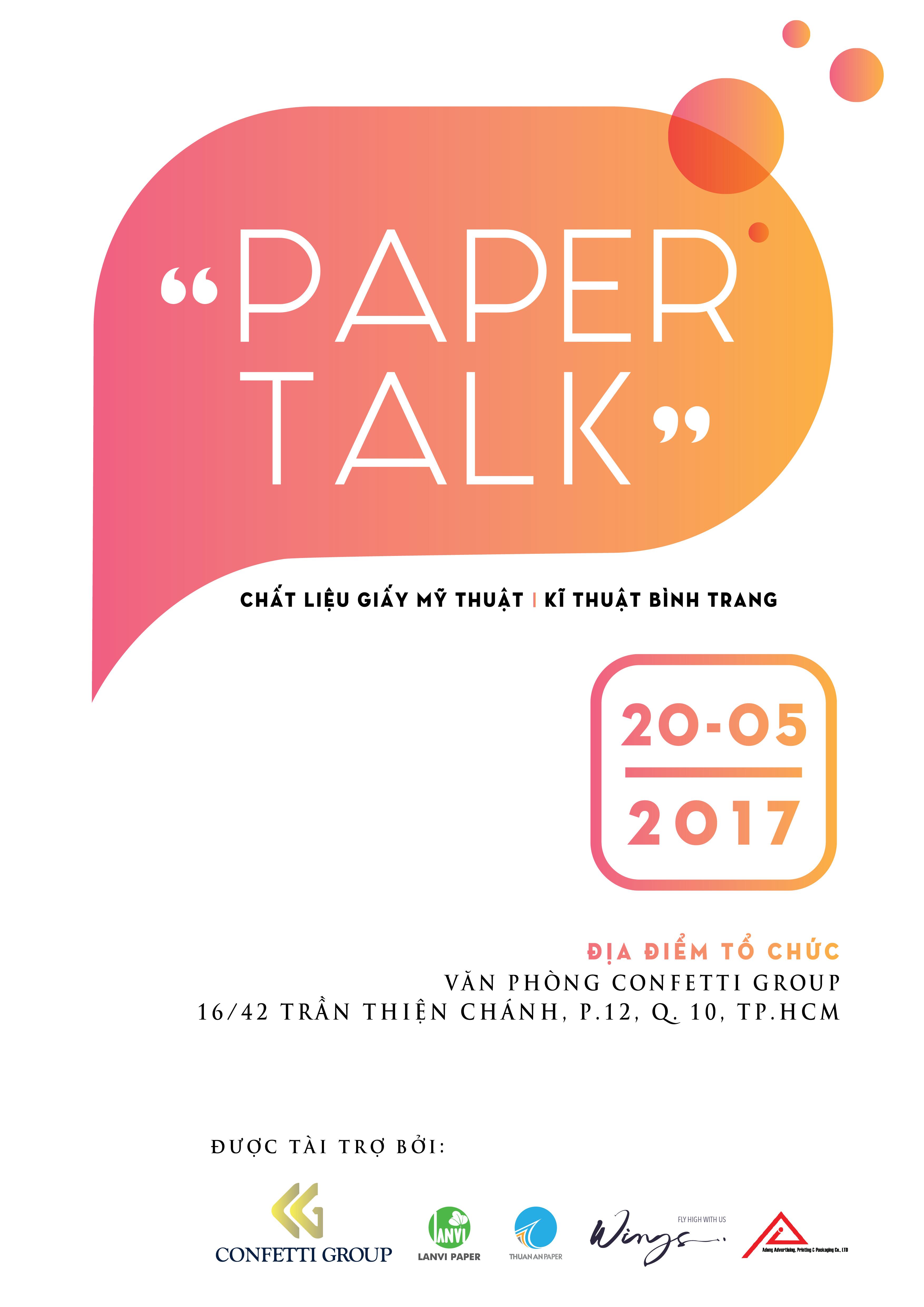 Giấy Lan Vi | Paper Talk Tháng 05