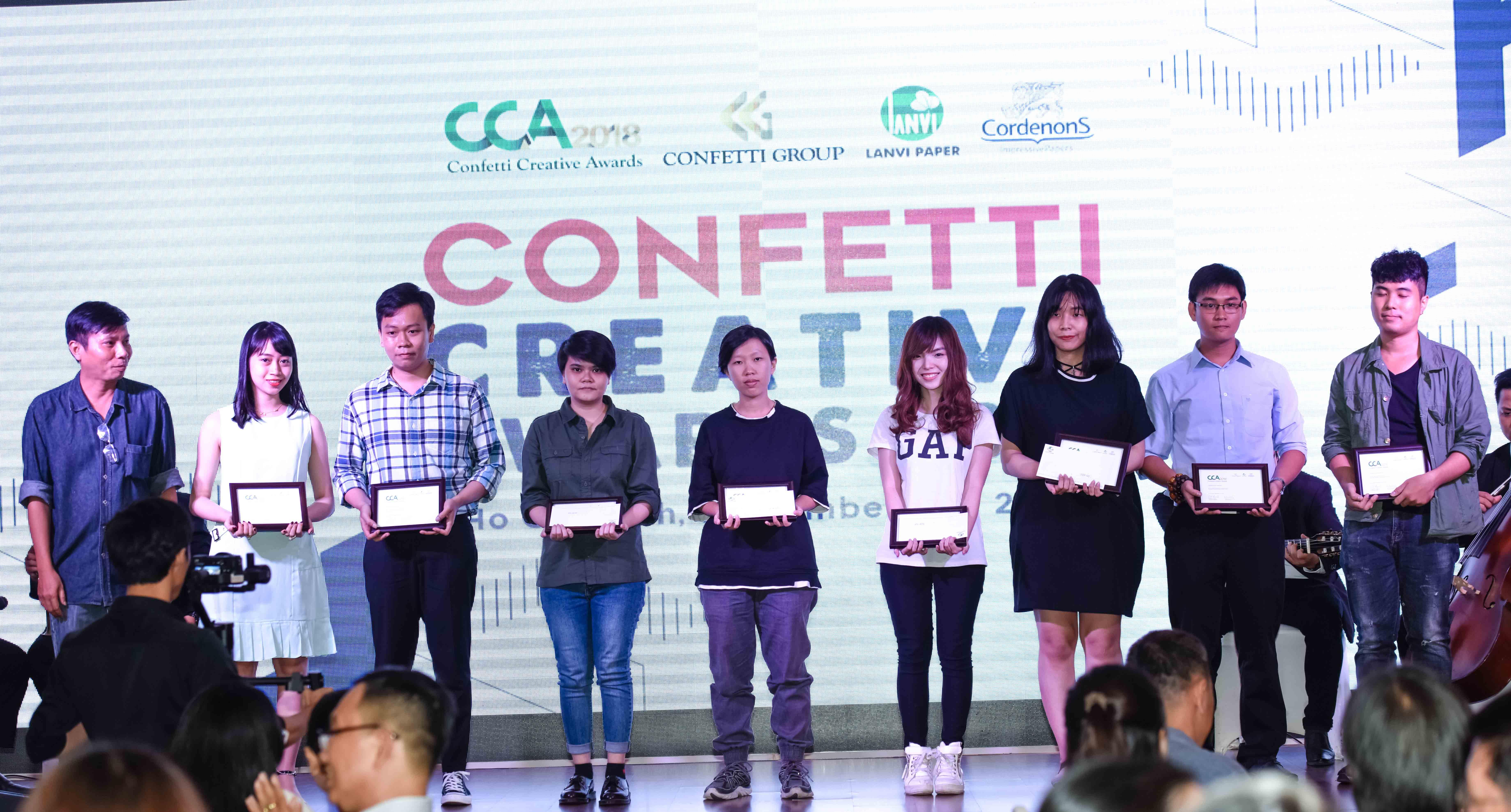 Trao giải CCA 2018